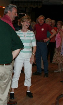 Sally Harney at a 2014 ceili in Watertown